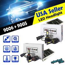 9005 + 9006 Combo 160000LM CREE LED Headlight Kit High & Low Beam Light Bulbs
