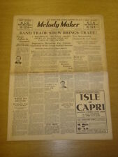 MELODY MAKER 1934 SEPT 29 BERT AMBROSE LEW STONE DANNY POLO BIG BAND SWING