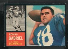 1962 Topps Football Card #88 Roman Gabriel-Los Angeles Rams-Rookie Card