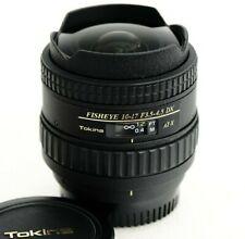 TOKINA AT-X FISHEYE 10-17mm f3.5-4.5 Zoom Objektiv für NIKON