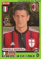 296 DANIELE BONERA ITALIA AC.MILAN STICKER CALCIATORI 2015 PANINI