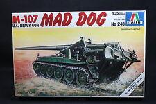 XT053 ITALERI 1/35 maquette tank char obusier 248 M-107 US Heavy Gun Mad Dog 107