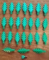 24x Lego 6148 Palm Branches Leaves