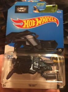 Hot Wheels 2017 205/365 Batman Batmobile 3/5 Blue The Bat Vehicle