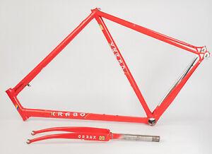 Krabo Bicycle Frameset Columbus Max Tubes 59 cm 700c Red Color