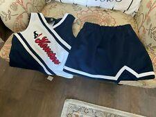 Houston Texans Girls Dress Size 5 Years Cheerleader Uniform Toddler Kids Blue