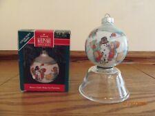 Vintage Betsey Clark Hallmark Keepsake 1991 Home for Christmas Ornament