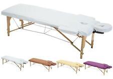 MFB Provence® - Drap Housse de protection pour tables de massage - Blanc