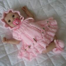 "Creative Dolls Designs Knitting pattern Dress Set For 7 - 8"" Dolls"