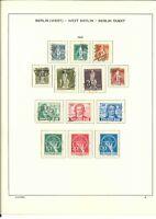 Herrliche Qualitäts- Berlin Sammlung 1948-1990 gestempelt - Mi. 4800,-