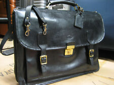 vintage HARTMANN American Professional Doctor Lawyer belting Leather Briefcase