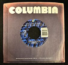 Rolling Stones Columbia 73093 Almost Hear You Sigh and Break The Spell NOS, M-