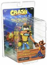 "Crash Bandicoot: Deluxe Crash with Scuba Diving Gear 7"" Scale Action Figure"