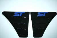 FORD FOCUS MK 2 ST Style WING VENTS ABS - PLASTIC NEW!Tuning to FORD /BLUE LOGO/