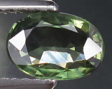 1.10 Ct. LUXURY 7.6X5.3 MM. OVAL 100% NATURAL GREEN SAPPHIRE!!NICE!!CLEAN!!RARE