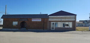 Turn Key Restaurant Property for Sale in Saskatchewan