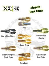 Xzone Lures Muscle Back Craw with Floating Claws - Choose Size / Color