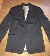 Mens Guide London Suit Jacket. XL Grey Pinstripe.