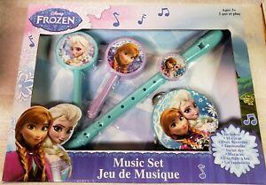 Disney Frozen Music Set Musical Instruments BRAND NEW!!