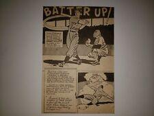 Snuffy Stirnweiss AL Batting Champion 1948 Cartoon Sketch