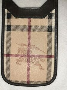BURBERRY CARD CASE POUCH PHONE HOLDER AUTHENTIC BAG