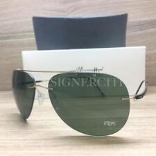 Silhouette Titan Adventurer 8667 20 6205 Sunglasses Shiny Gold Black Authentic