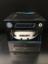 Bauer 9900 Hockey Helmet - White/Dark Green - Med - Lrg - XL