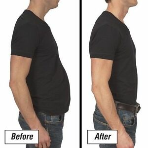 Men's body shaper slimming t-shirt. BRAND NEW Size XL. ---WHITE COLOR ONLY---