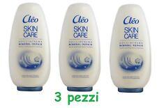 3 x Shower Cream Shower Body Cream Cleo Skin Care Mineral Repair Skin Youth