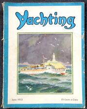 "June 1932 YACHTING MAGAZINE *St Petersburg-Habana Race* ""Lenore II"" *Great Lakes"