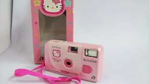 【As-Is w/ Box】Fujifilm Epion Hello Kitty Sanrio APS Film Camera From Japan #751