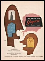 1947 ALVIN LUSTIG Art Jayson Men's Shirt Vintage Fashion Clothing PRINT AD