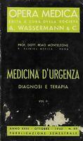 Medicina d'urgenza diagnosi e terapia vol.III monteleone opera medica wassermann