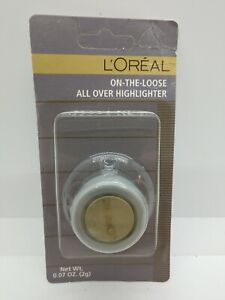 L'Oreal On-The-Loose All Over Highlighter  Sparkling Mint .07 Oz.