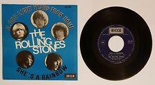 "ROLLING STONES ""2000 LIGHT YEARS..."" BELGIUM MONO PS 1967 ORIG. 26.148"