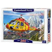 New Castorland Childrens Jigsaw Puzzle 260 Pieces - Helicopter Rescue - B27248