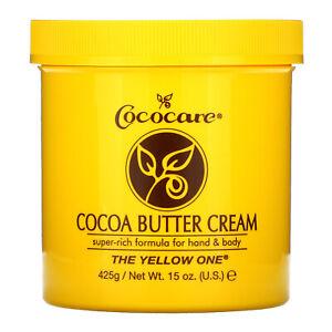 Cocoa Butter Cream, 15 oz (425 g)