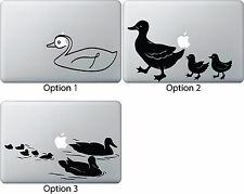 Duck Sticker Apple Mac Book Air/Pro Dell Laptop Decal Ducklings Outdoor Wildlife