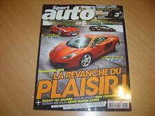 Sport Auto N°573 Pagani Cinque.Gallardo LP 560-4 Spyder.Mercedes S63 L AMG