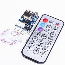 12V Mini WAV MP3 Decode Board Decoder Module Two-Channel Output For Audio Player