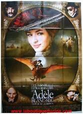 ADELE BLANC SEC Affiche Cinéma / Movie Poster LUC BESSON TARDI Louise Bourgoin