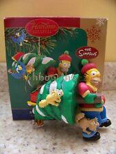 Carlton Cards Heirloom 2005 Homer Simpson D'oh! Tannenbaum Christmas Ornament
