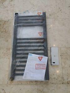 Eastbrook Wingrave 400x800 anthracite radiator towel rail