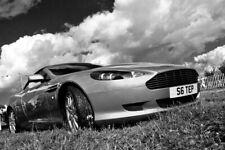 Aston Martin Sports Motor Car Auto Vehicle Photograph Picture Print