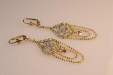 Earrings For Her woman earrings Ladies Hanging Earrings Gold Finish