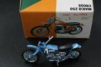 Vintage Polistil MAICO 250  Cross Motorcycle UP2.25