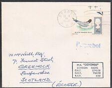 GB Norwegen 1966 MS devonia Schiff Cover, Bergen Between... 1051