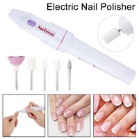 Electric Nail Drill Machine Kit Handpiece Polish File Drills Bit Pen  Manicure