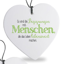 """Formano Herz Häng. 15cm """"begegnungen"""" 749352"""