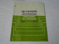 Workshop Manual Toyota Land Cruiser/Prado , Stand 04/1996